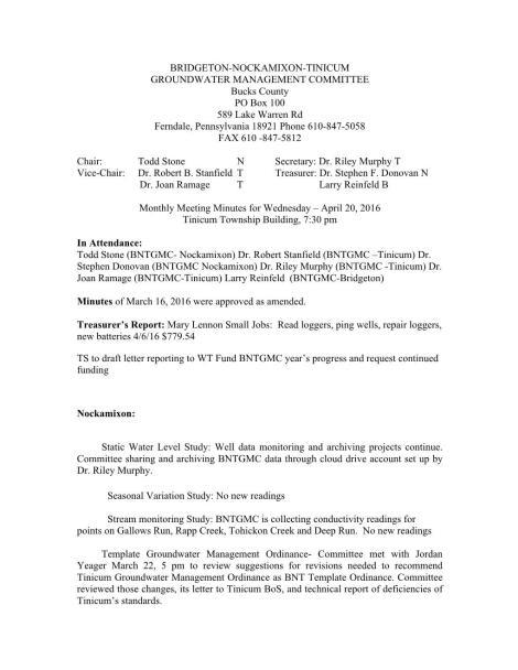 BNTGMC Minutes April 20,2016 Page 001