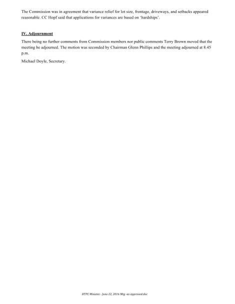 BTPC Minutes - June 22, 2016 Mtg Page 002